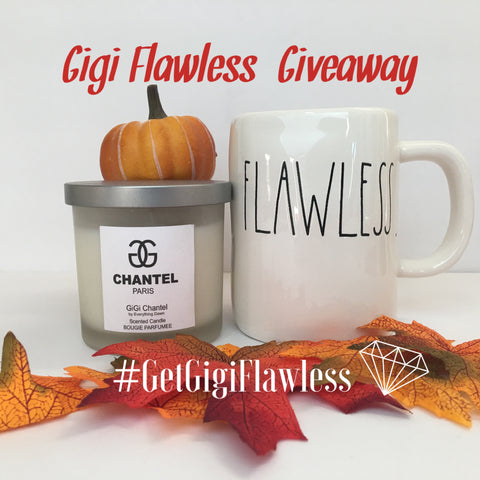 Gigi Flawless Giveaway on Instagram