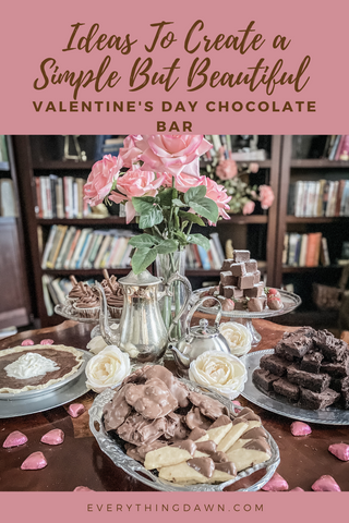 IDEAS TO CREATE A SIMPLE BUT BEAUTIFUL VALENTINES DAY CHOCOLATE BAR Pin