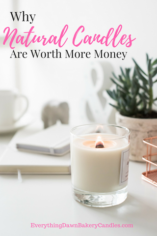 The Bottom Line Why Natural Candles Are Worth More Money by Everything Dawn Bakery Candles