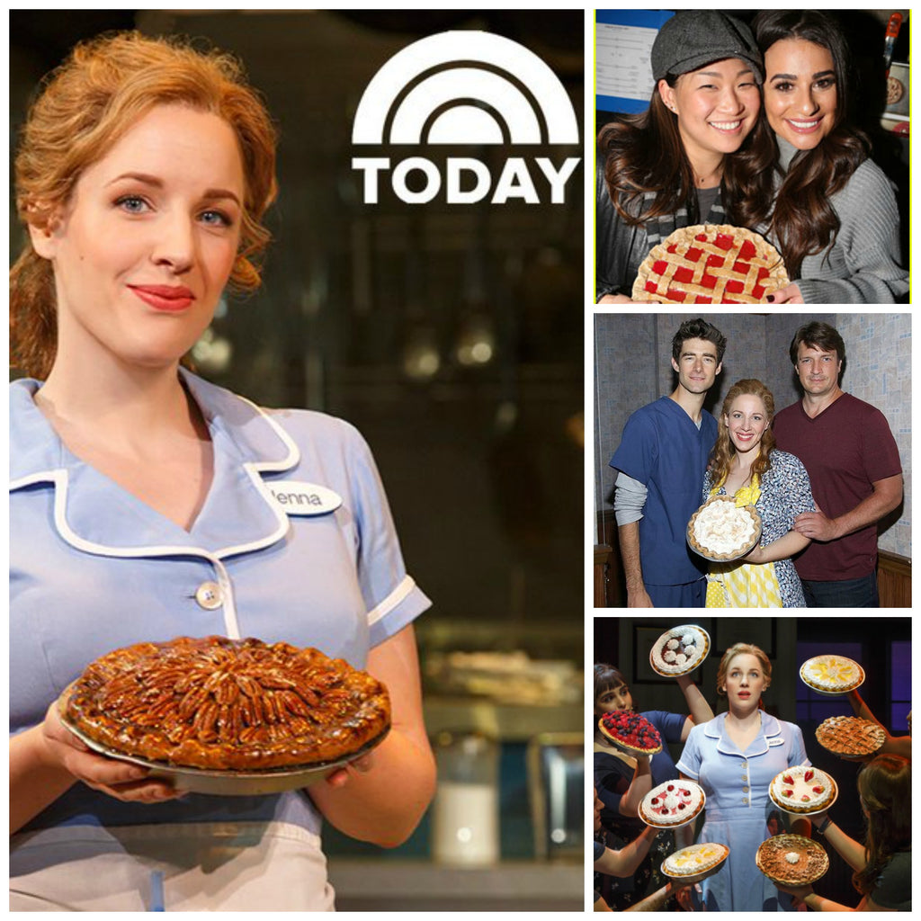 Broadway Hit Waitress The Musical Fake Prop Pies Created by Everything Dawn Bakery Candle Treats