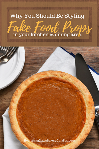 What You Need To Know About Kitchen Fake Food Props by Everything Dawn Bakery Candle Treats