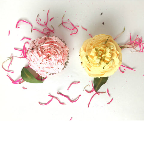 Cupcake Bath Bombs by Everything Dawn Bakery Candle Treats