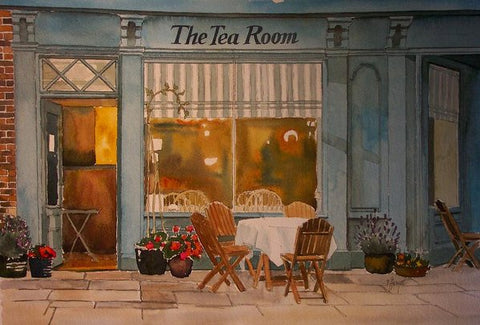 Fine Art America Tea Room Art
