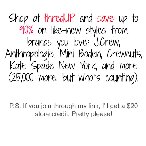 Save up to 90% on thredUP