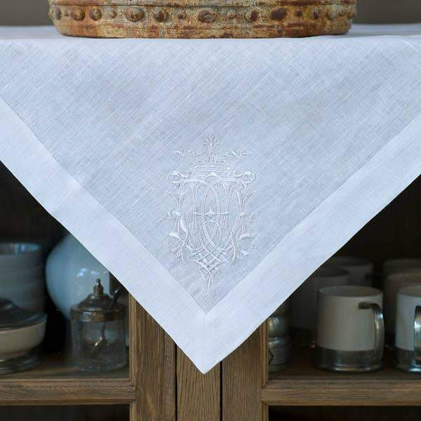 Crown Linen Designs Royal Linen Table Square