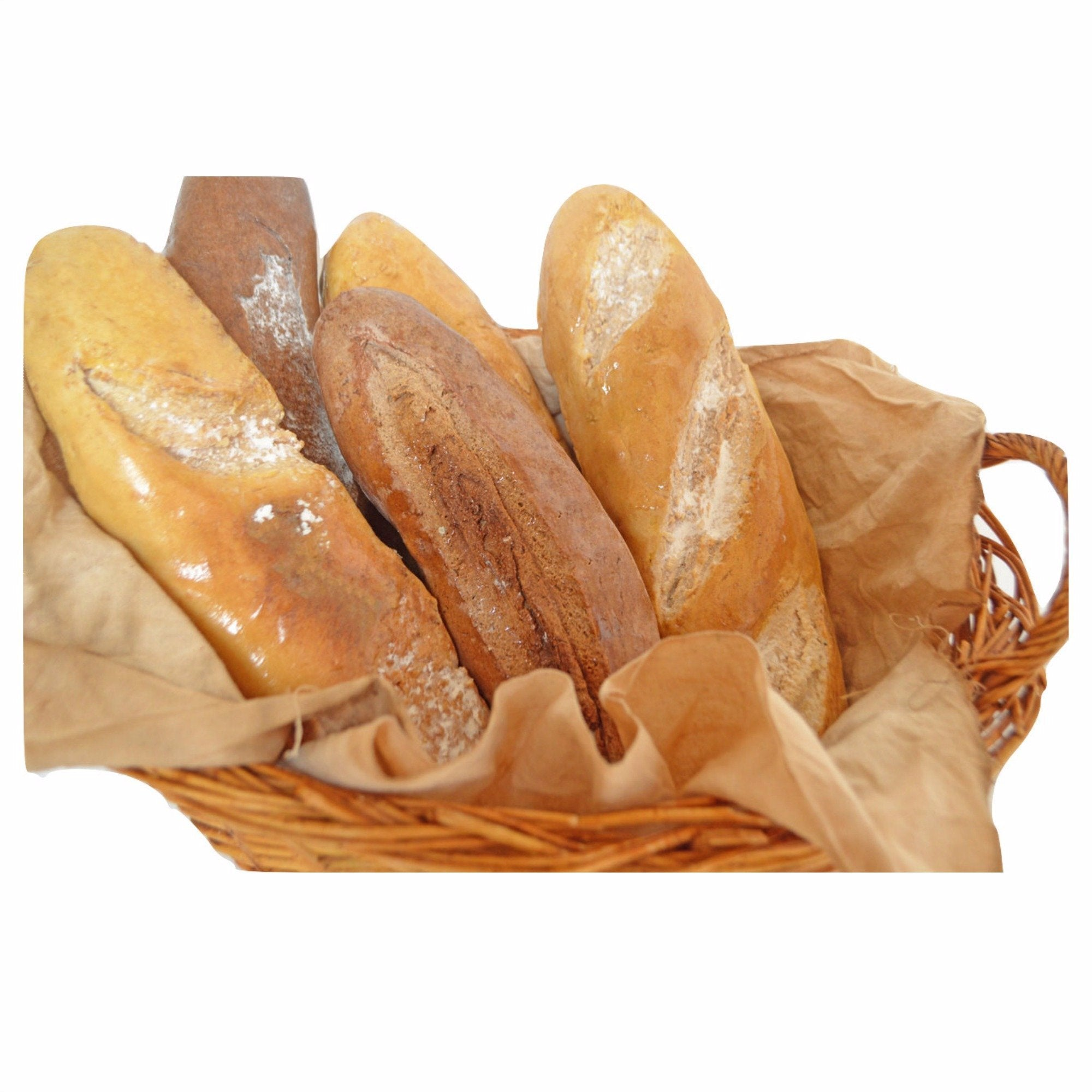 Everything Dawn Bakery Candle Treats Fake Bread Rustic French Bread Loaves Fake