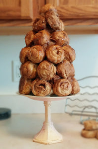 Everything Dawn Bakery Candle Treats Fake Pastries Fake Pastry Croquembouche Table Decor