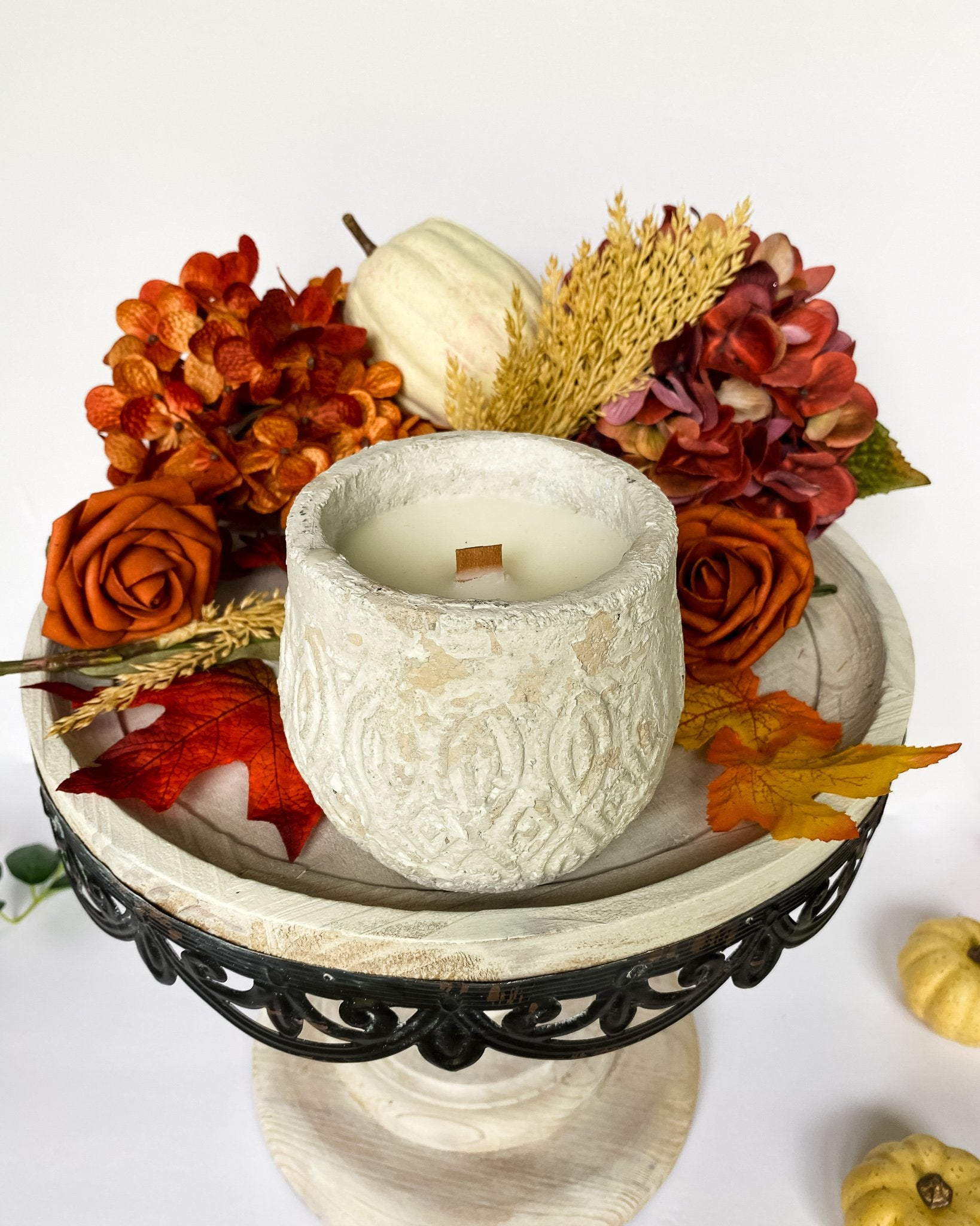 Everything Dawn Candle Pumpkin and Persimmon Home Candle