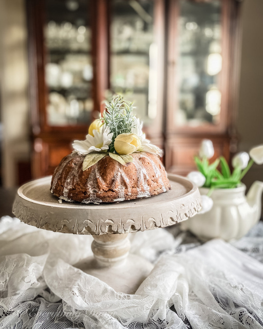 Everything Dawn Fake Cake Fleur Delicate Faux Bundt Cake