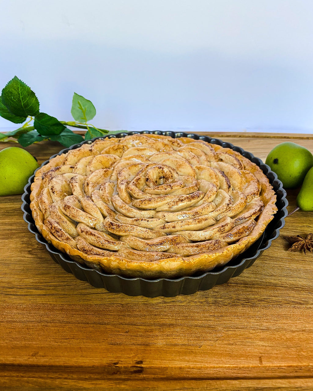 Everything Dawn Fake Pie Faux Pear Tarte