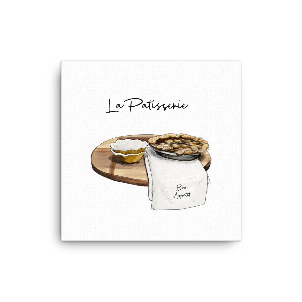 Everything Dawn Wall Canvas La Patisserie Color Canvas