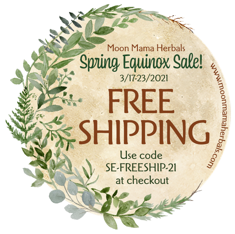 Free Shipping for the Spring Equinox!