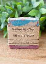 Soap - Hand poured local - All American