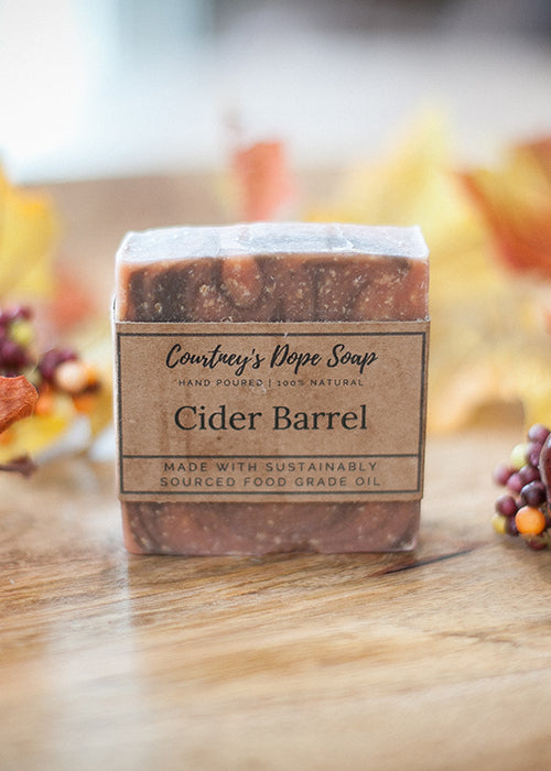 Soap - Hand poured local - Cider Barrel