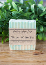 Soap - Hand poured local - Ginger White Tea
