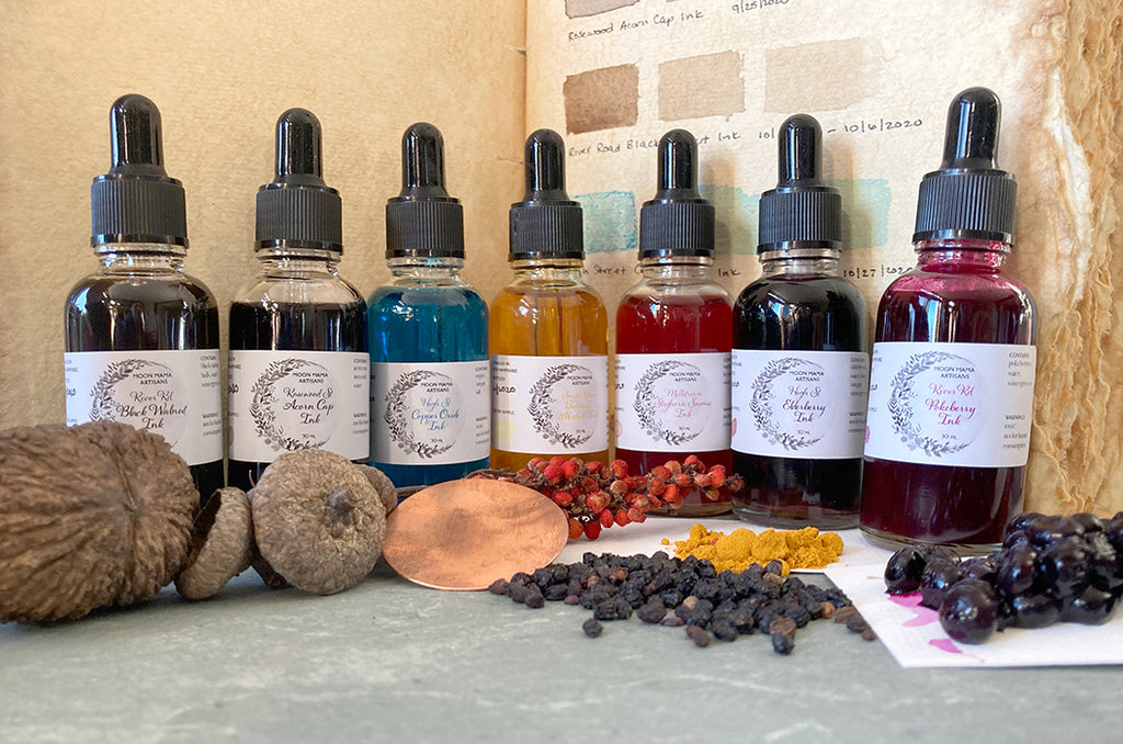 Moon Mama Artisan Botanical Inks Set