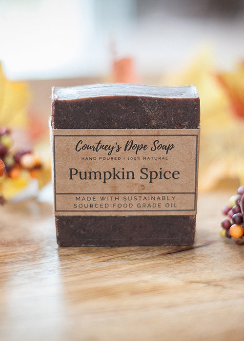 Soap - Hand poured local - Pumpkin Spice
