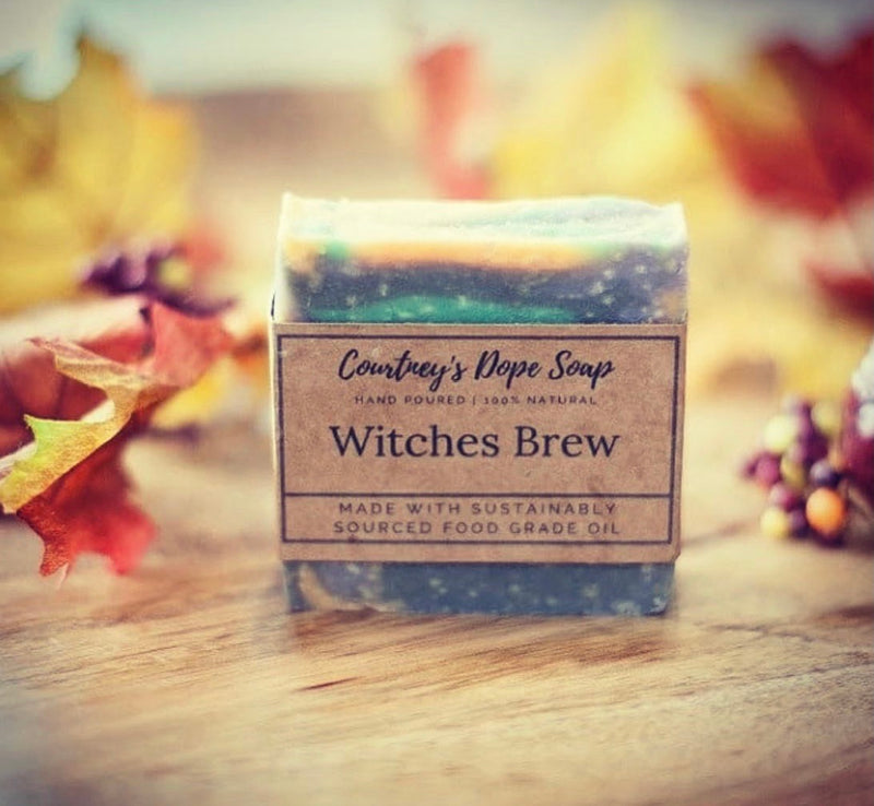 Soap - Hand poured local - Witches Brew