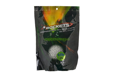 Rockets Professional BIO 0,25g BBs - 1kg - white - Jopas Airsoft Europe