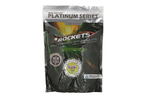 Rockets Platinum Series BIO 0.28g BBs - 1kg - Jopas Airsoft Europe