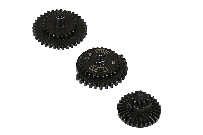 Set of High Speed 12:1 reinforced thread-wheels - Jopas Airsoft Europe