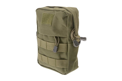 Cargo Pouch with Pocket - Olive Drab - Jopas Airsoft Europe