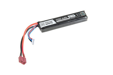 LiPo 11,1V 1100mAh 20/40C Akku - T-Connect (Deans) - Jopas Airsoft Europe