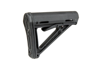 Polymer Stock for M4 / M16 Replicas - Black - Jopas Airsoft Europe