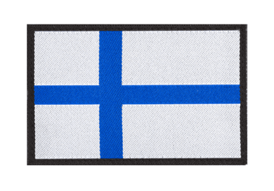 Finnish Flag Velcro Patch - Jopas Airsoft Europe