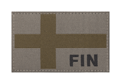 Finnish Flag Velcro Patch(RAL7013) - Jopas Airsoft Europe