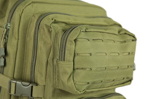 Medium Laser-Cut Patrol Backpack - Olive Drab - Jopas Airsoft Europe