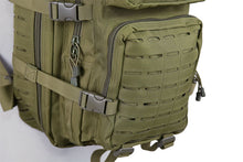 Lataa kuva Galleria-katseluun, Medium Laser-Cut Patrol Backpack - Olive Drab - Jopas Airsoft Europe