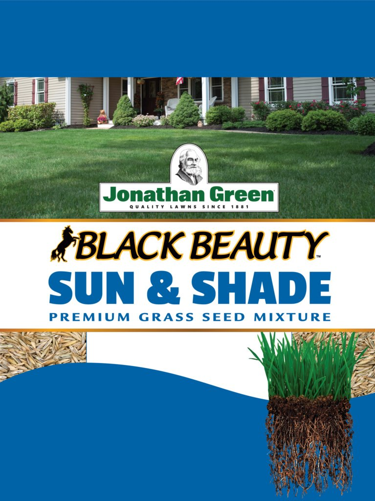 Black Beauty® Sun & Shade Grass Seed - 3lb