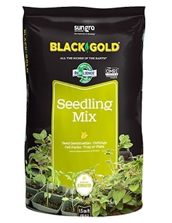 Black Gold® Seedling Mix - 16 Quart