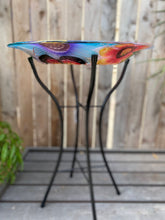"Load image into Gallery viewer, 18"" Butterfly Bird Bath"