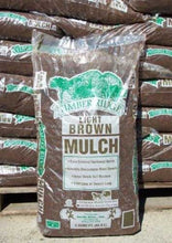 Load image into Gallery viewer, Double Brown Mulch - 2 CF Bag