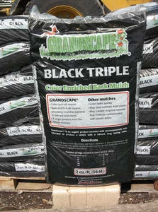 Triple Black Mulch - 2 CF Bag