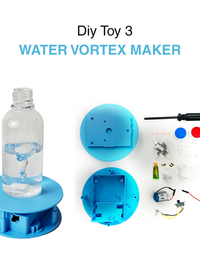 Aquashot Box - Set of 3 DIY Water Science Toys
