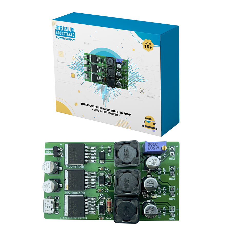 Triple Power Supply – Three Output Power Supplies from One Input Power