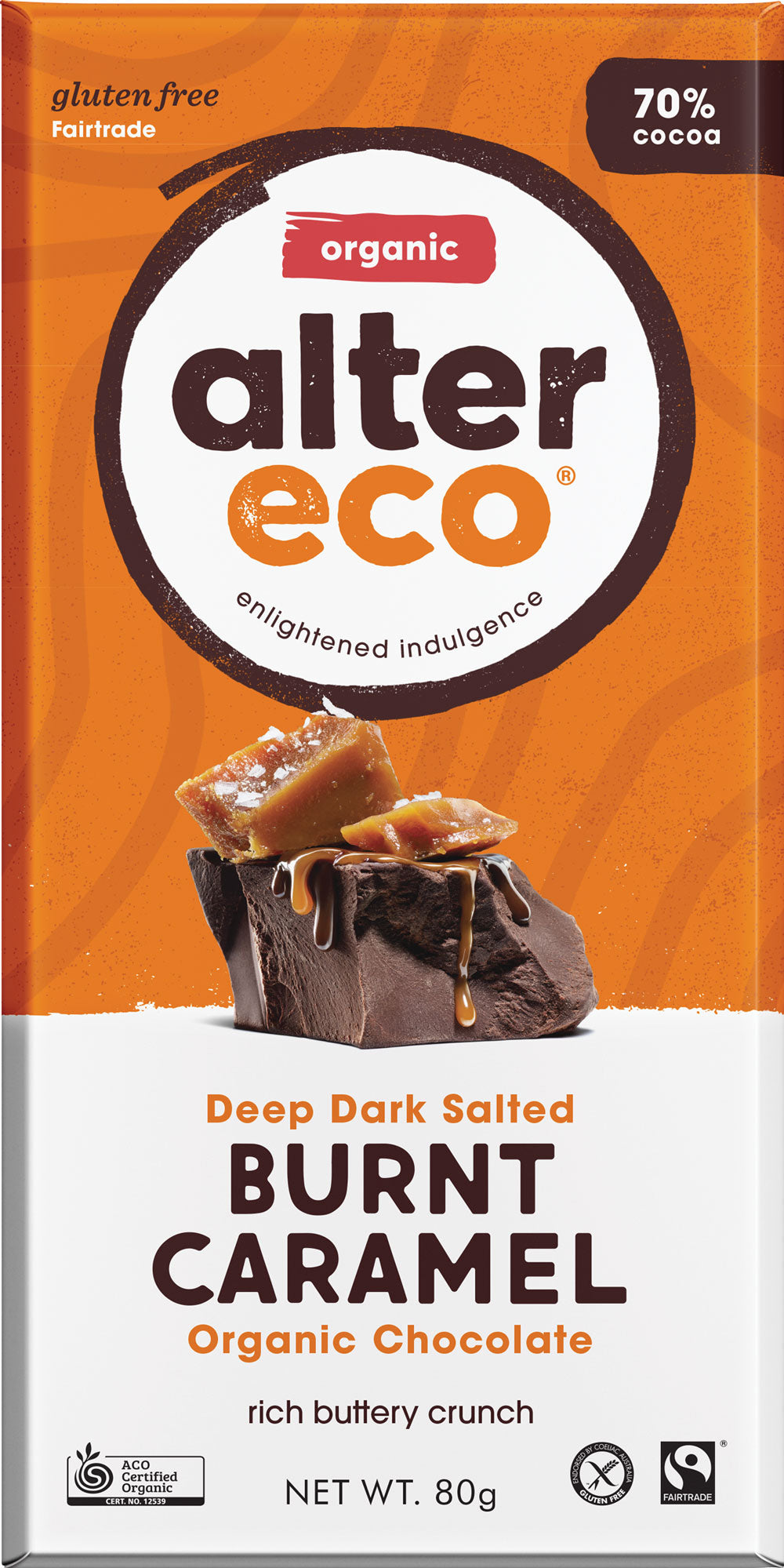 alter eco chocolate bars - various flavours