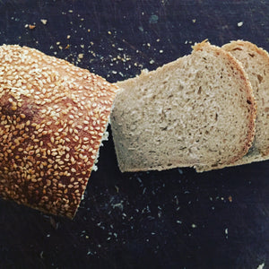 sesame wholewheat sandwich