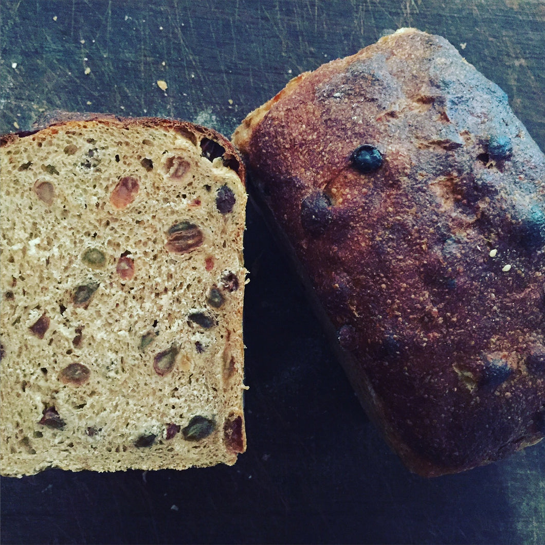 fruit loaf - sandwich