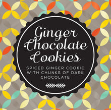 Load image into Gallery viewer, chunky choc ginger cookies
