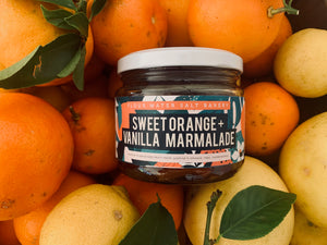 sweet orange & vanilla marmalade