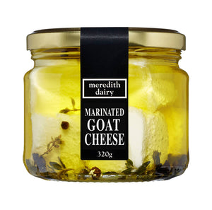 meredith dairy marinated goat's cheese