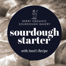 Load image into Gallery viewer, sourdough starter & Joost's recipe