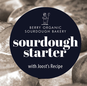 sourdough starter & Joost's recipe