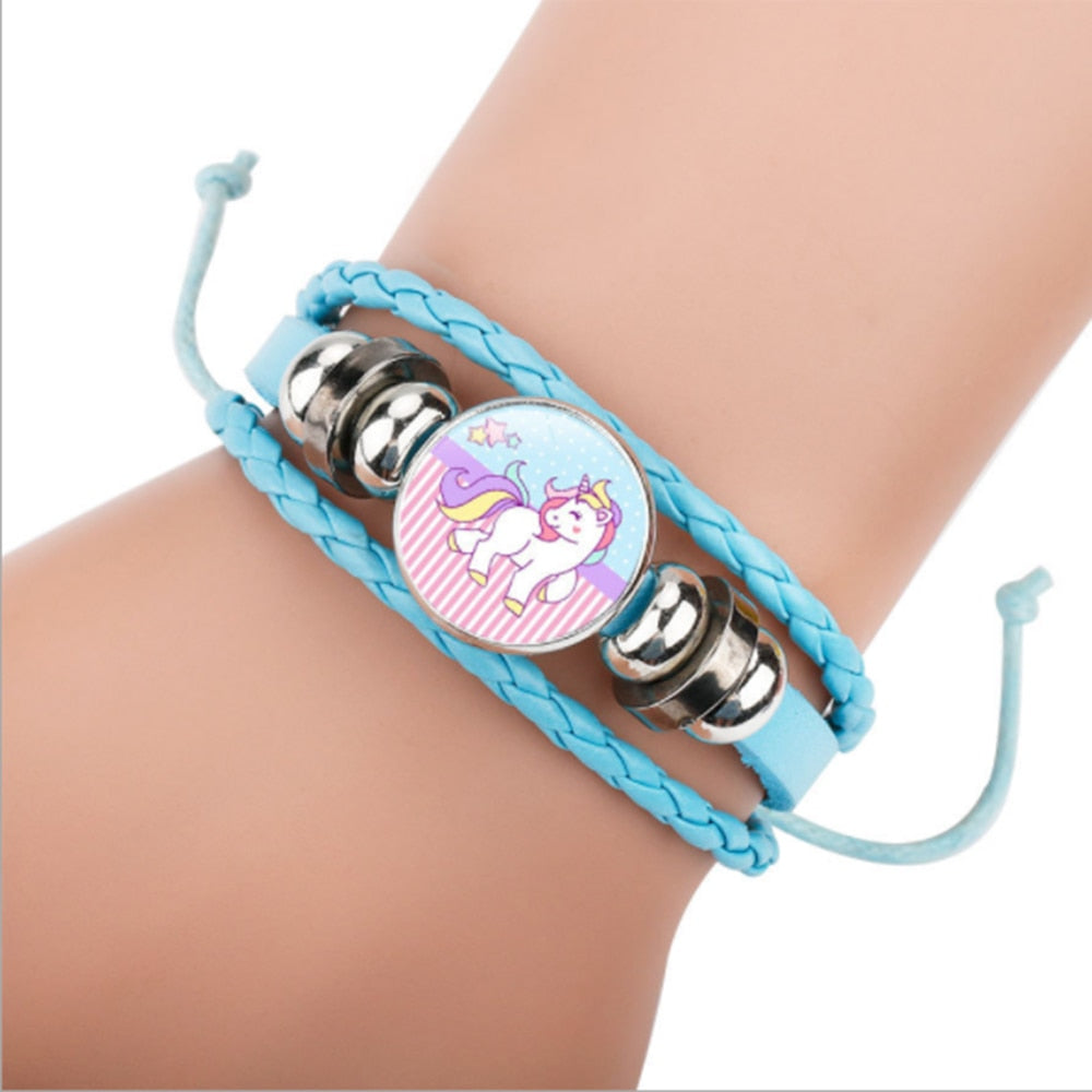 Unicorn Horse Adjustable Charm Bracelets