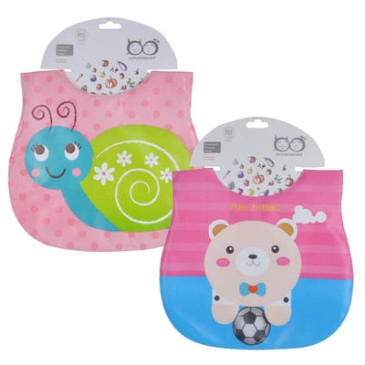 Mother Nest 2 Pcs/lot Waterproof Baby Bibs - SnazzyBabe
