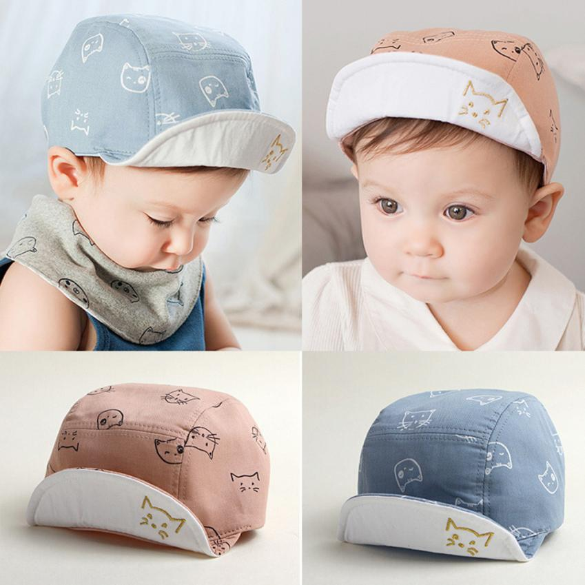 1-3 Years Cute Comfortable Cap Cat Kitten Cartoon - SnazzyBabe